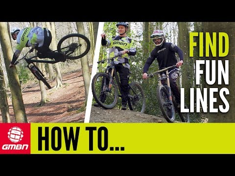 Find The Most Fun Line While Mountain Biking | GMBN How To