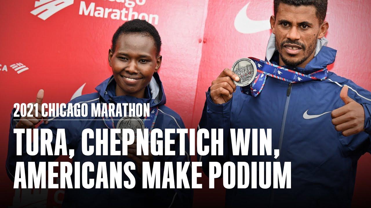 Chicago Marathon 2021 results: Seifu Tura and Ruth Chepngetich ...