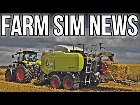 FARM SIM NEWS! | 28 Mods In Testing + Claas DLC Fact Sheets! (FS19)