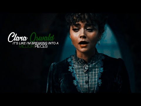 ■ Clara Oswald [TGC]   breaking into a million pieces;