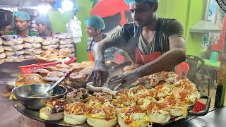 SHAMI EGG BURGER | Anda Bun Kabab at Karachi Food Street | Pakistani Street Food | Cheapest Burger