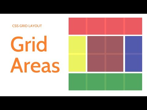CSS Grid Layout // Grid Areas