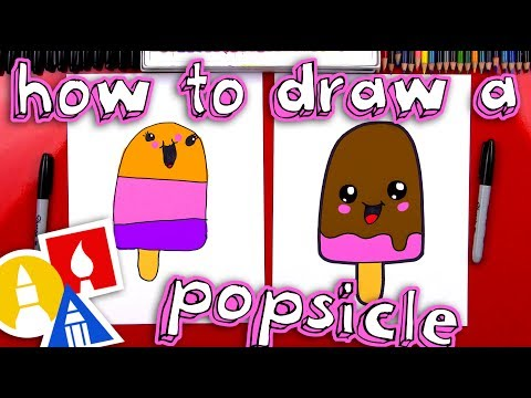 How To Draw A Cartoon Popsicle