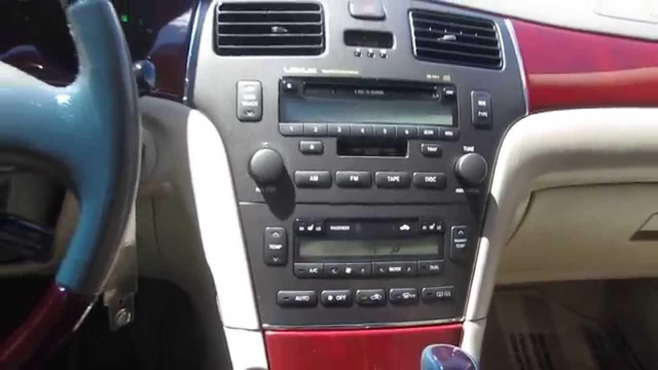 1999 lexus es300 interior