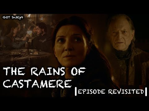 Game Of Thrones | The Rains Of Castamere | Episode Revisited (Sn3Ep9)
