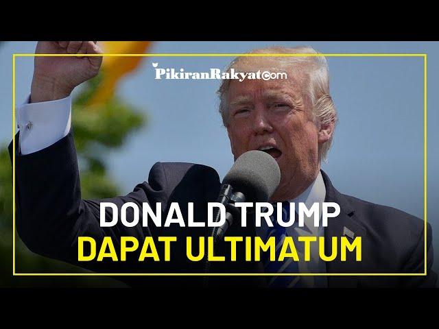 Donald Trump Dapat Ultimatum: Tinggalkan Posisi Presiden sebelum Masa Jabatan Berakhir