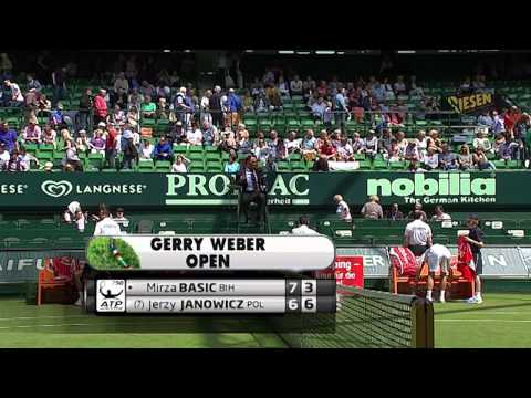 Gerry Weber Open 2013 -1. Runde - Mirza Basic vs. Jerzy Janowicz