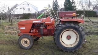 Démarrage du tracteur Renault R56