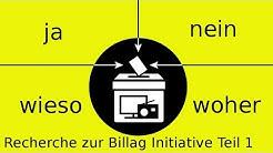 No Billag - die Initiative!