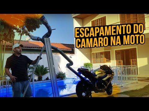 ESCAPE DO CAMARO NA MOTO DE OURO