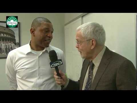 Doc Rivers talks with Mike Gorman about Boston Celtics - [HD]