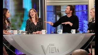 Jenna Fischer, Oliver Hudson Talk 'Splitting Up Together', Spouses Making You Gain Weight & More