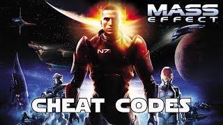 Mass Effect Cheat Codes