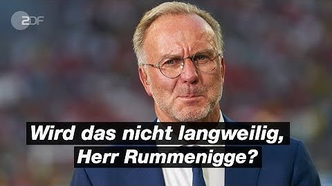 Bayern-Boss Rummenigge im Meister-Interview | ZDFsport
