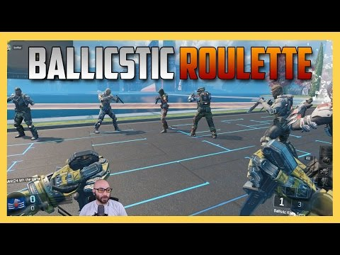 Ballistic Knife Roulette! - Using the new BO3 Weapon!
