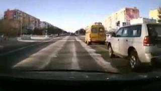 Девушка сбила пешехода на зебре