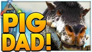 RIP PIGDAD (YOU WILL BE MISSED) - MODDED ARK SURVIVAL EVOLVED SCORCHED EARTH #3