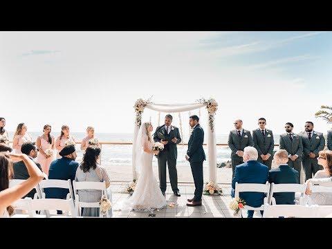 Haminder & Emily | Wedding At Malibu Beach Club West