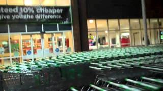 24 hour shopping at Asda