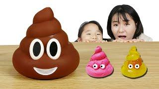 수지의 똥깨기 챌린지 눈알젤리 주사위껌 엠엔엠 초콜렛 초코 또루루 핑크 또루루 Choco ToRooRoo challenge - Littlejoy