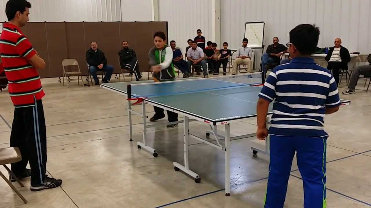 PMC Table Tennis Tournament 2014: Kids Finals, Age 6 10