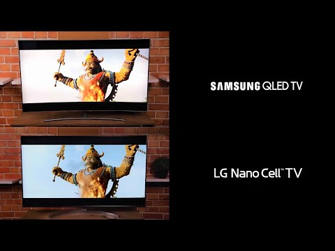 TV Samsung Qled Vs LG Nano Cell LA VERDAD - YouTube