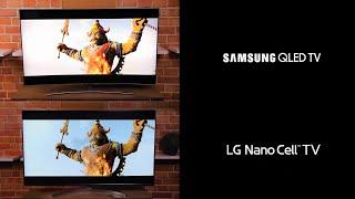 TV Samsung Qled Vs LG Nano Cell LA VERDAD