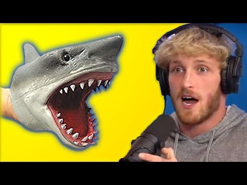 Logan Paul Reacts To Shark Puppet Face Reveal In New