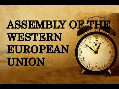 Assembly of the Western European Union