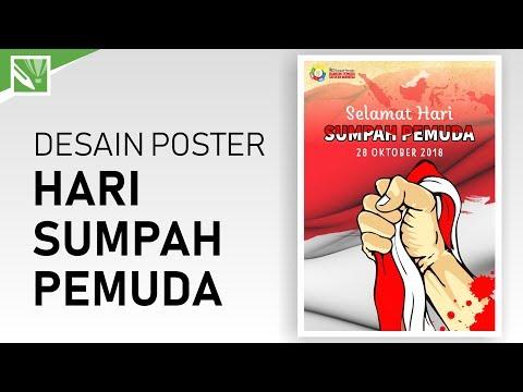 Tutorial Desain Poster Hari Sumpah Pemuda Dengan CorelDRAW X7 - Desain Poster Dengan CorelDRAW X7