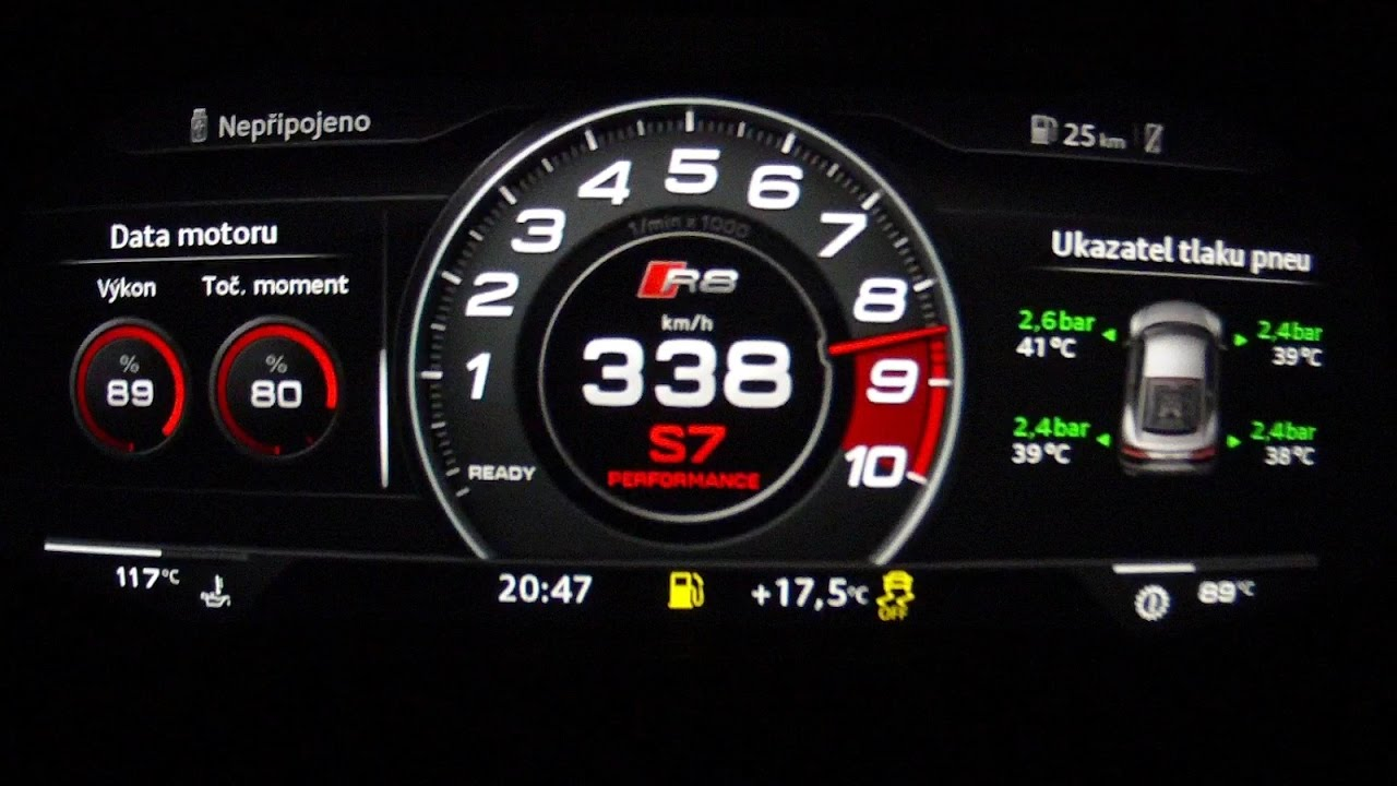 Audi rs7 top speed youtube 10