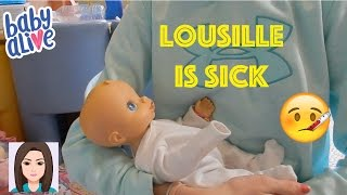 Baby Alive Lousille Is Sick