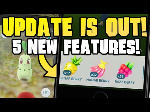MASSIVE Pokémon Go Update!! - 5 New Features to Try!