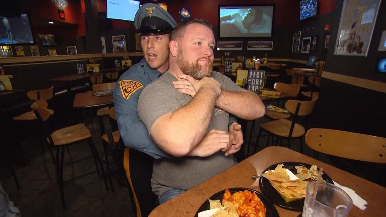 Off Duty Trooper Saves Man Choking At Restaurant With Heimlich Maneuver