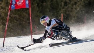 Slalom - First run - 2013 IPC Alpine Skiing World Cup