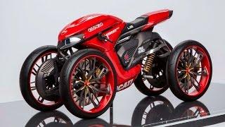Концепты четырехколесных мотоциклов Ducati // Ducati on Four Wheels
