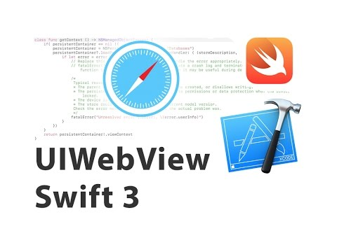 WebView using Swift 3 in iOS 10