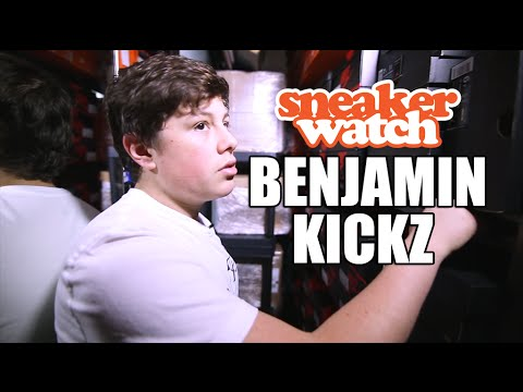 Benjamin Kickz Reveals His Sneaker Inventory is Worth Over $1 Million