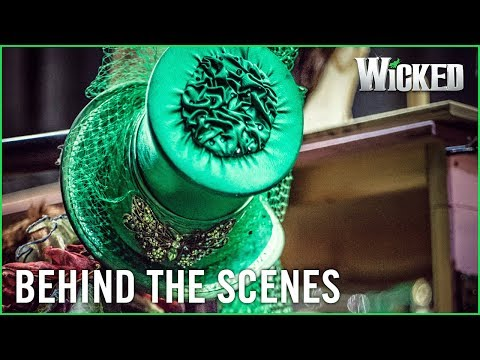 Wicked UK | Behind the Emerald Curtain: Costumes: Design/Build
