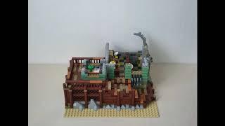 LEGO 오래된 낚시가게