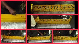 Gadapa Designs Simple and Easy|Gadapa Muggulu Designs For Houses|Gadapa Painting Designs In Telugu