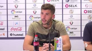 """David García: """"Somos futbolistas para jugar partidos como este"""""""