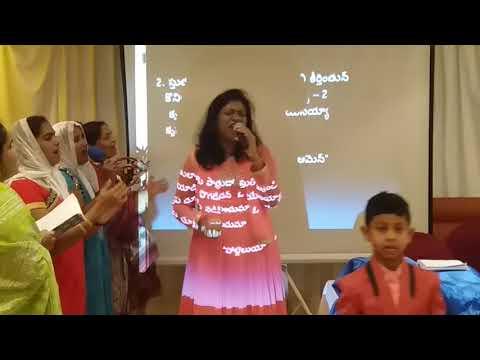 Telugu Worship/Pastor Reenya Esther/Abu Dhabi Apostolic Church/United Arab Emirates/8th Sept, 2017