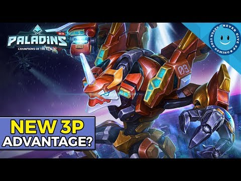 Paladins OB61 | 3rd-Person Mode In A FPS?! (Pros and Cons of 3P Gameplay)