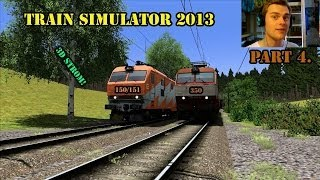 Andy - Train Simulator 2013 Part 4. 150/151/350! aneb Krysy a Gorily