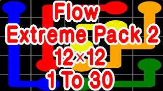 Flow Free Extreme Pack 2 12×12 1~30