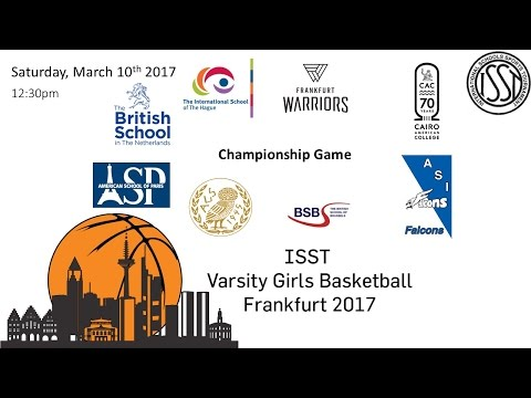 ISST Varsity Girls Basketball: Championship Game (FIS vs ATH)