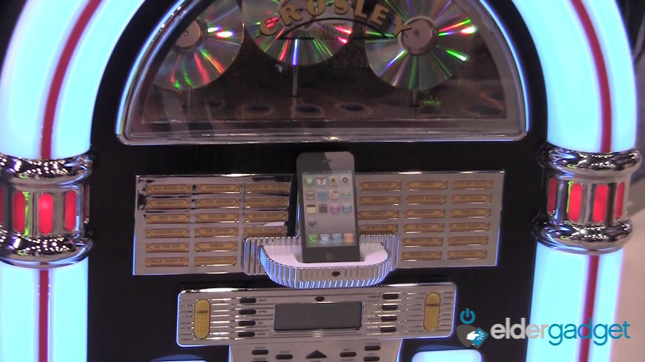 Crosley iPod, iPhone and iPad Jukebox and Record Player ...
