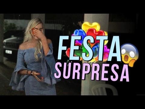GANHEI UMA FESTA SURPRESA DE 1 MILHÃO | Amanda Domenico