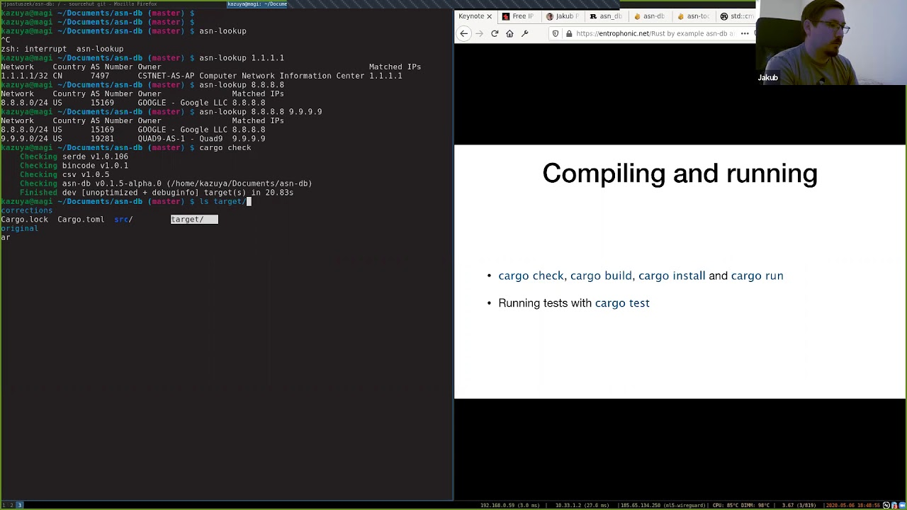 Rust Dublin May 2020 remote meetup - creating a Rust project